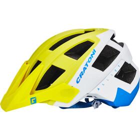 Cratoni Allset - Casco de bicicleta - amarillo/blanco